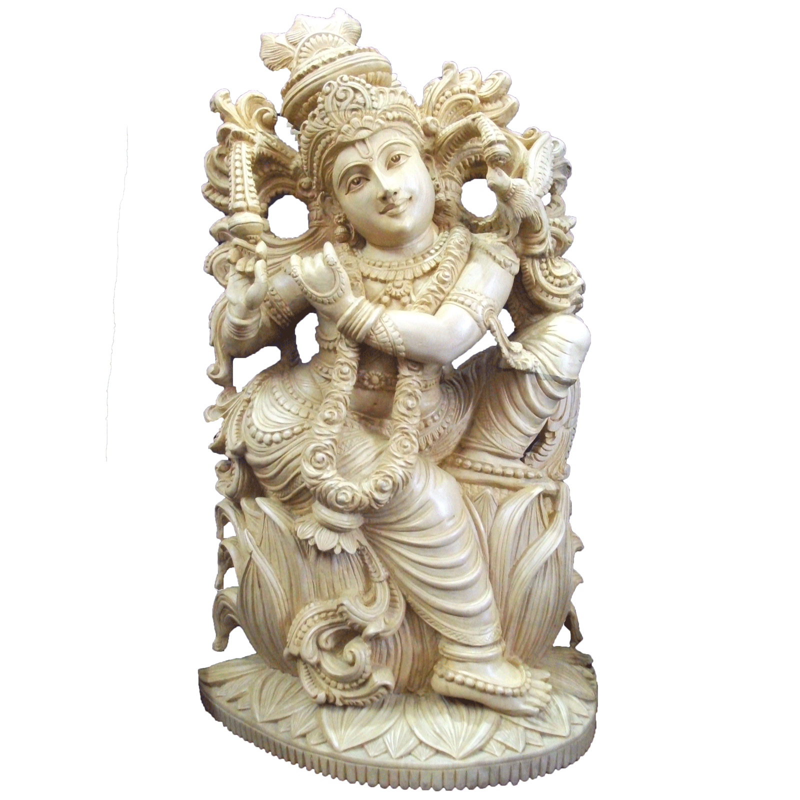 Krishna in sitting position
