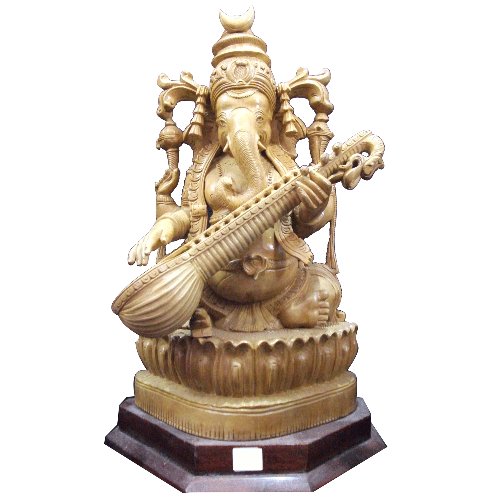 Ganesha Statue with Veena